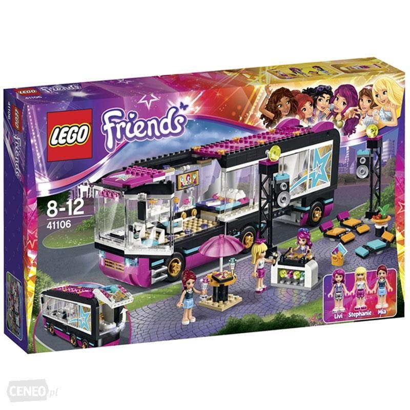 Lego Friends 41106 Wóz Koncertowy Gwiazdy Pop 7377894986