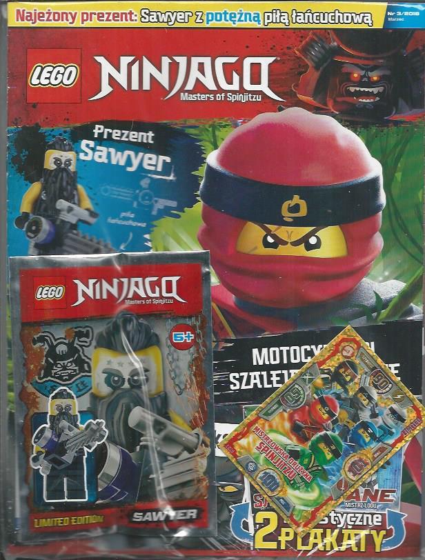 Lego Ninjago Magazyn Nr 318 Figurka Sawyer Z Po 7393397592
