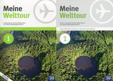 Meine Welttour 1 Podręcznik z CD + Zeszyt ćwiczeń
