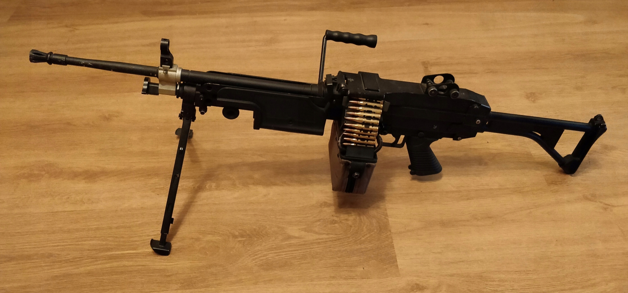 [A&K] M249 - tuning AirsoftPro, Guarder