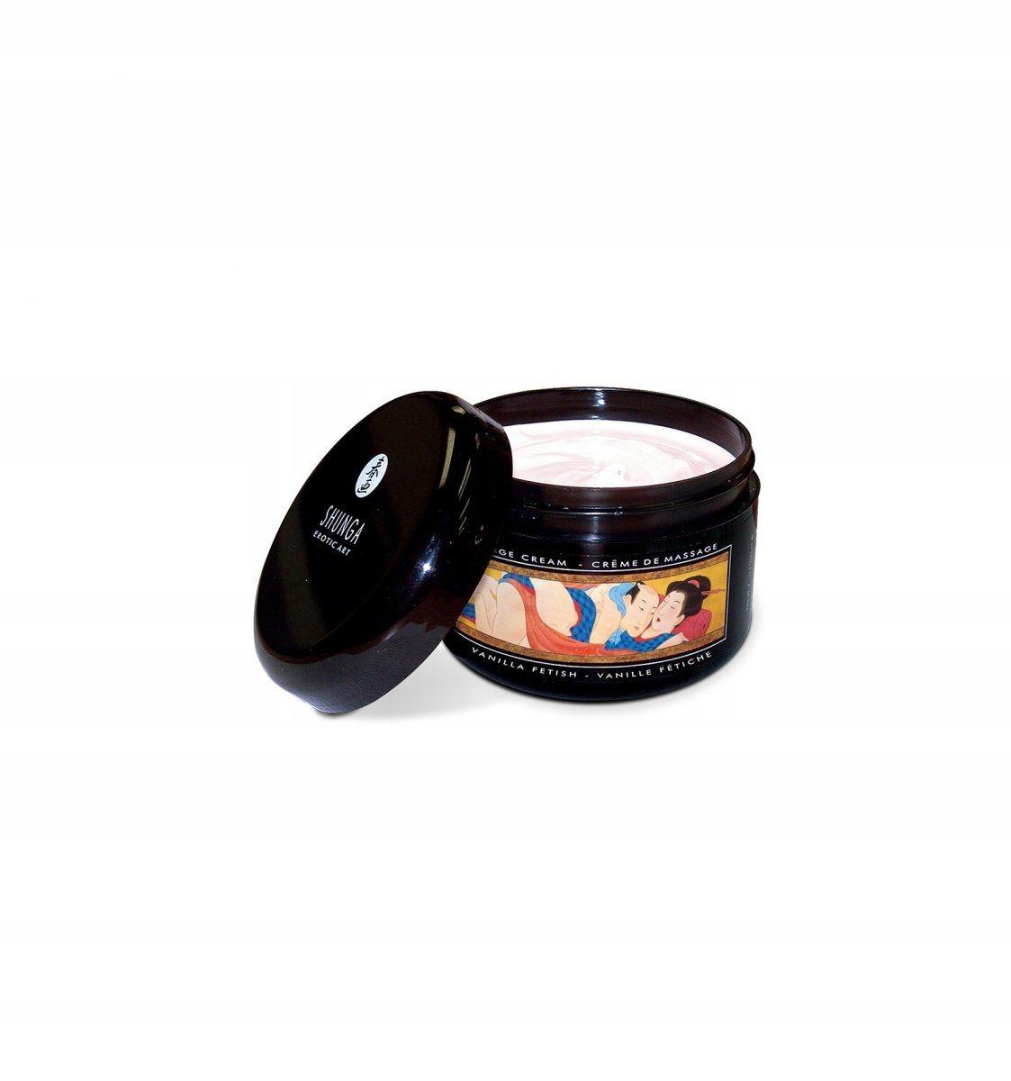 Shunga - Vanilla Fetish Massage Cream 200 ml