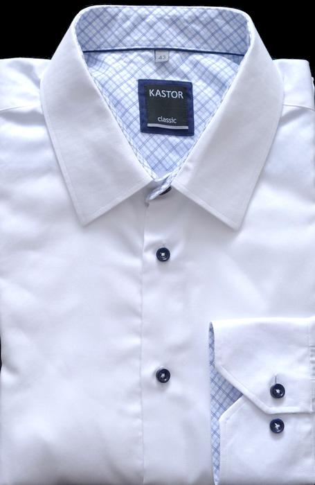 aca76a5b9 Kastor biała koszula rozmiar 43 bawełna - 7729692341 - oficjalne ...