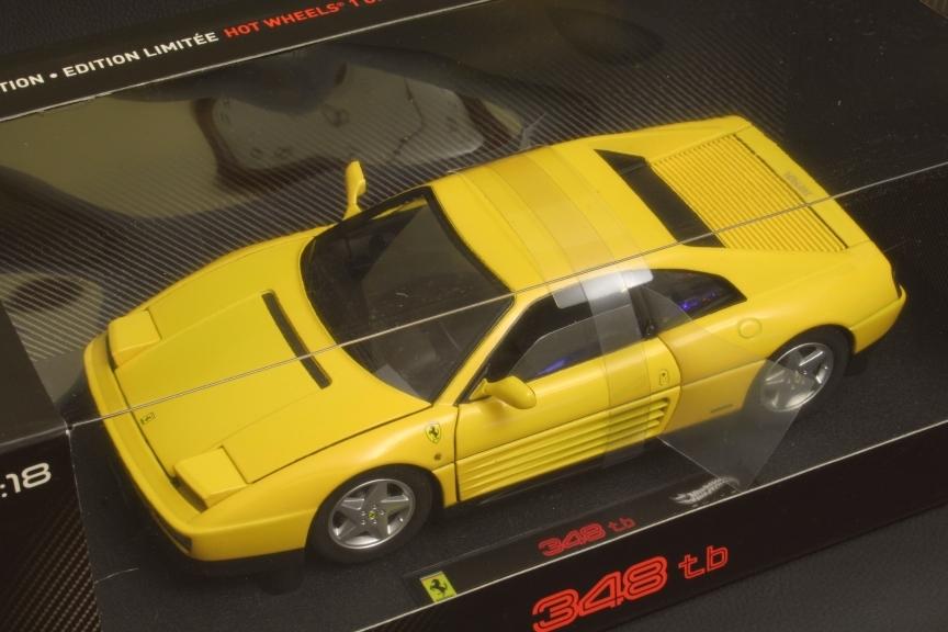 Ferrari 348 TB - Hot Wheels Elite Kyosho AutoART