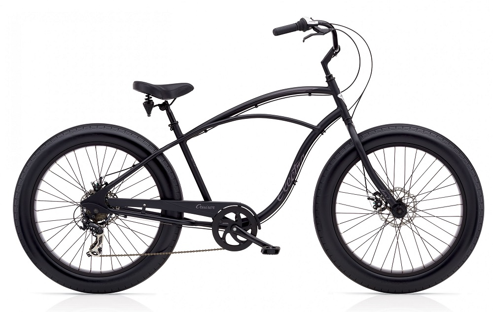 Rower Electra Cruiser Lux Fat Tire 7D Black
