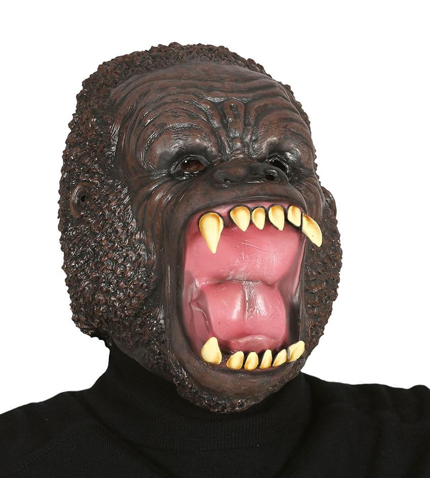 Maska dziki goryl lateksowa Halloween [919/2413]