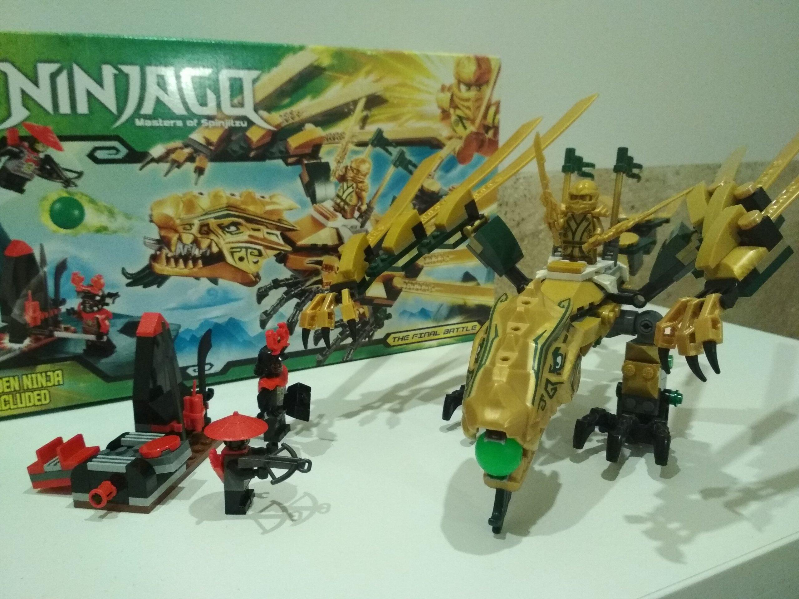 Lego Ninjago 70503 Złoty Smok 7154016568 Oficjalne Archiwum Allegro