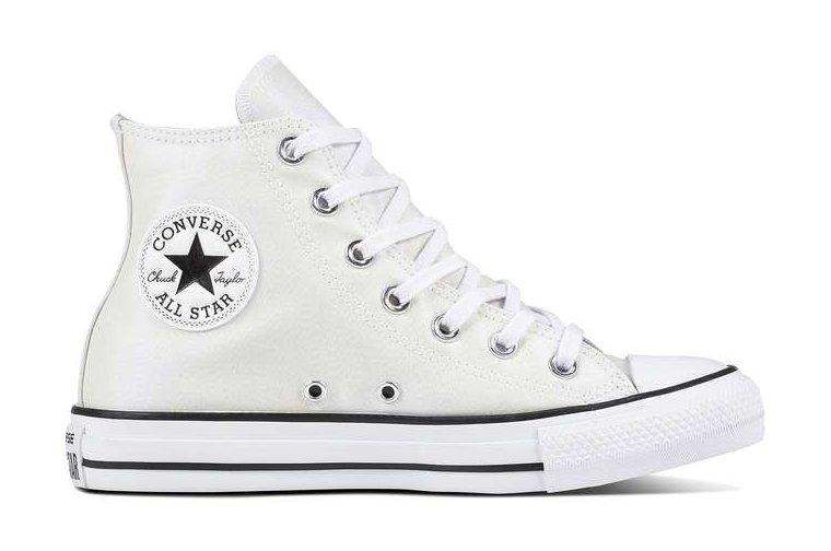Białe Tekstylne Buty Trampki Converse r.40 7495977868