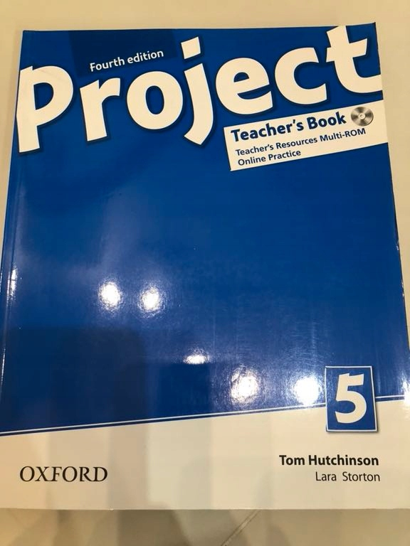 Teachers fourth edition book 5 project