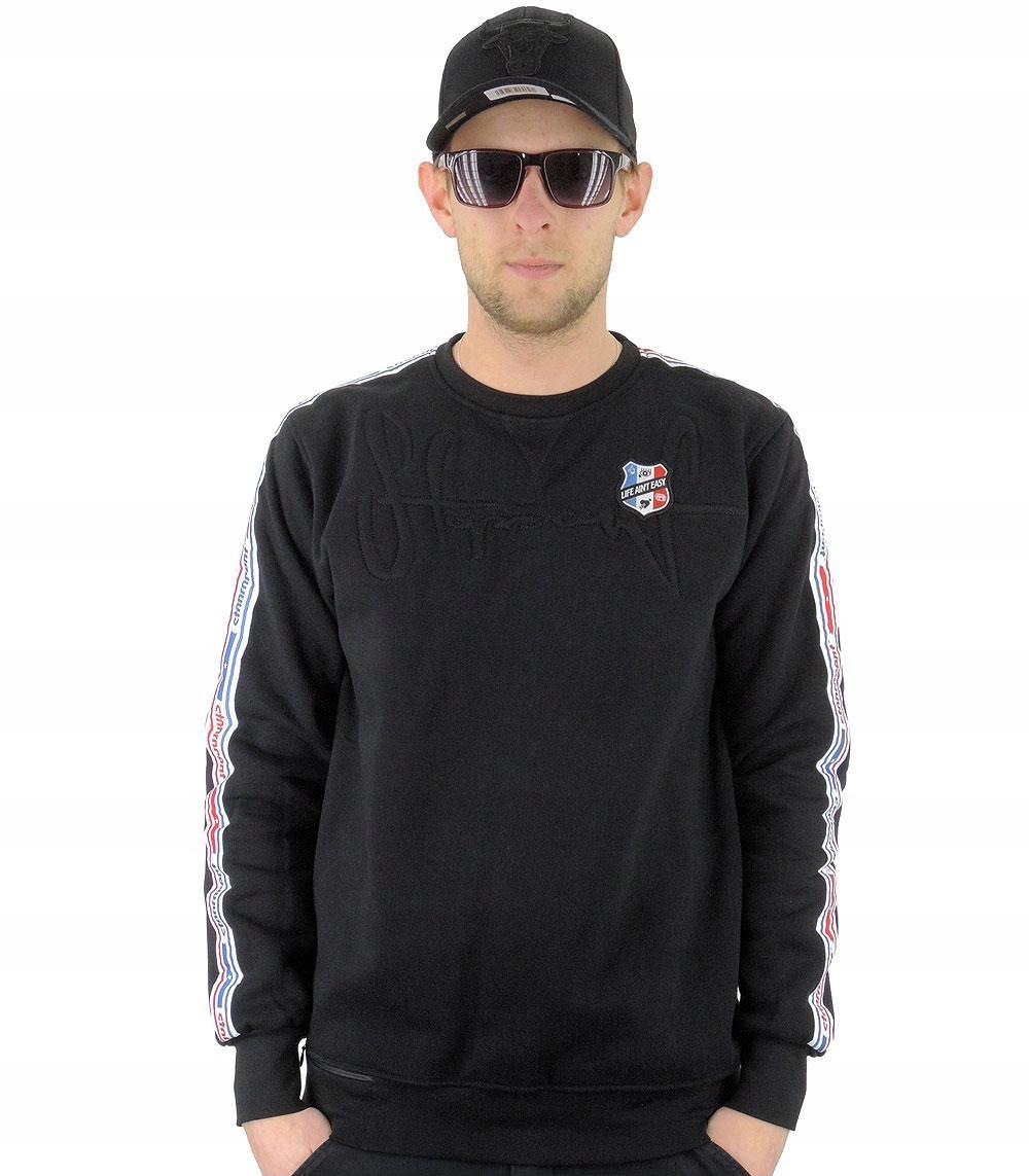 Bluza STOPROCENT grade - czarna, rozmiar:XL (12636