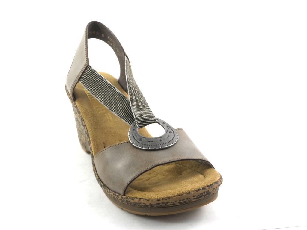 fac0504eea4cc Rieker 43758-60 sandały//komfort i wygoda/roz 37 - 6728067664 ...