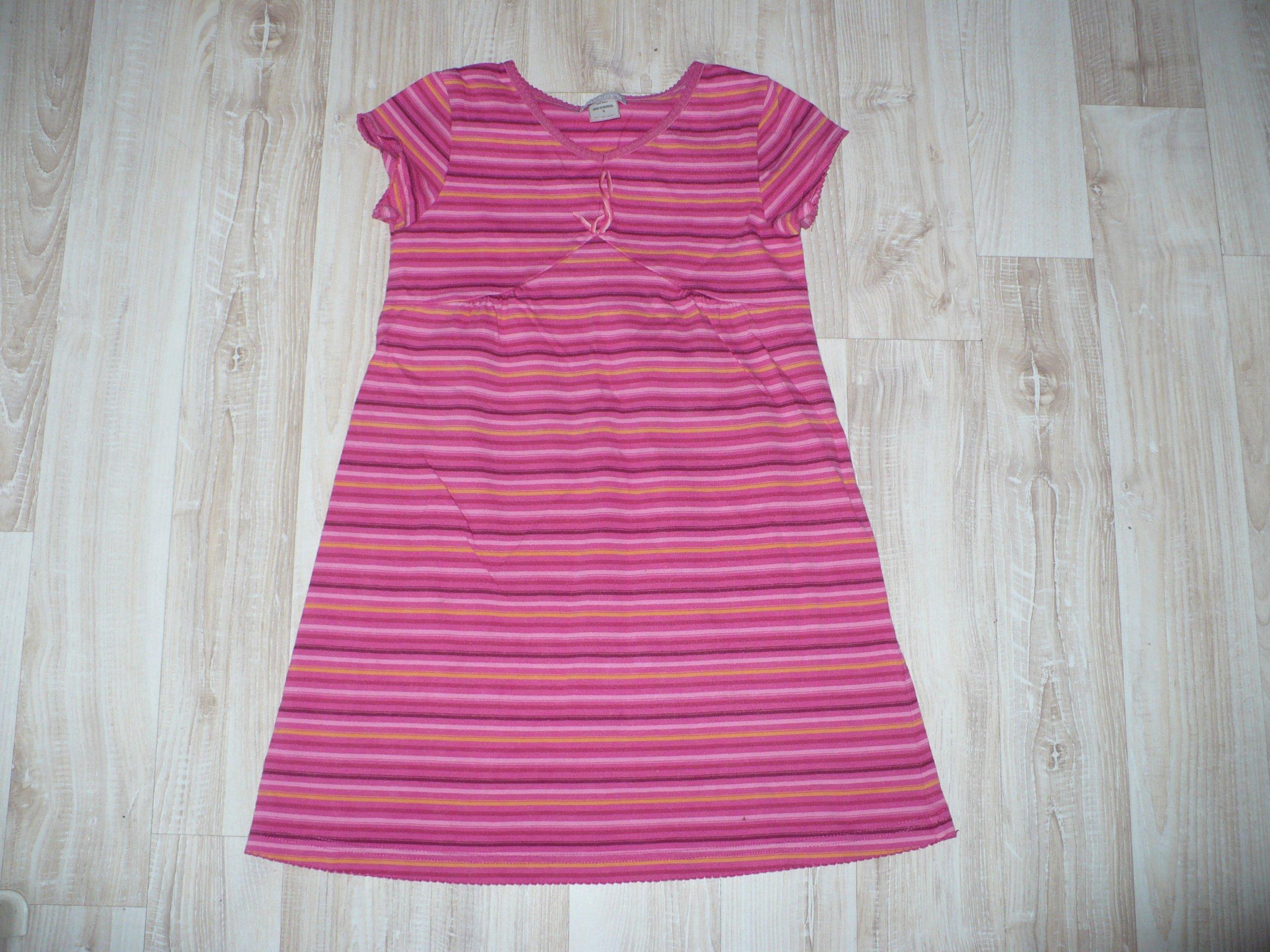 9eb02b5385 sukienka Carters dla dziewczynki 5-6 lat- paski - 7290458206 ...