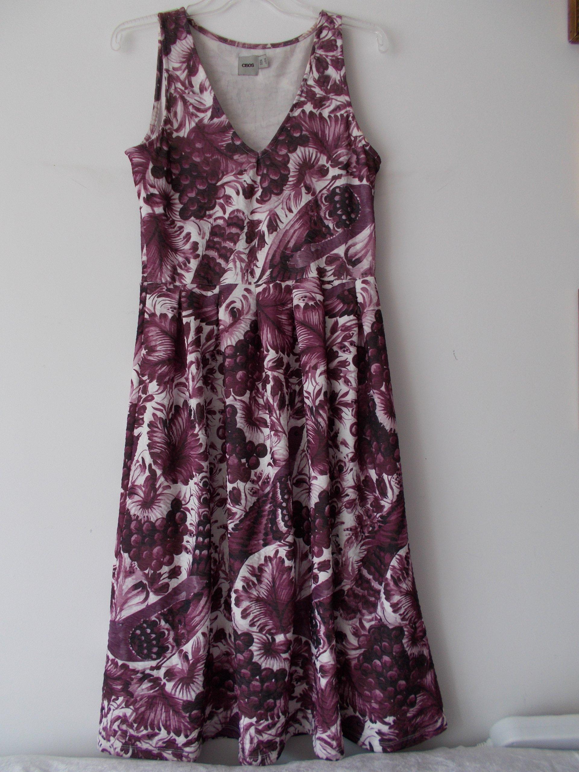 504807279a2ba sukienka ASOS rozmiar 38 - - 7653496803 - oficjalne archiwum allegro