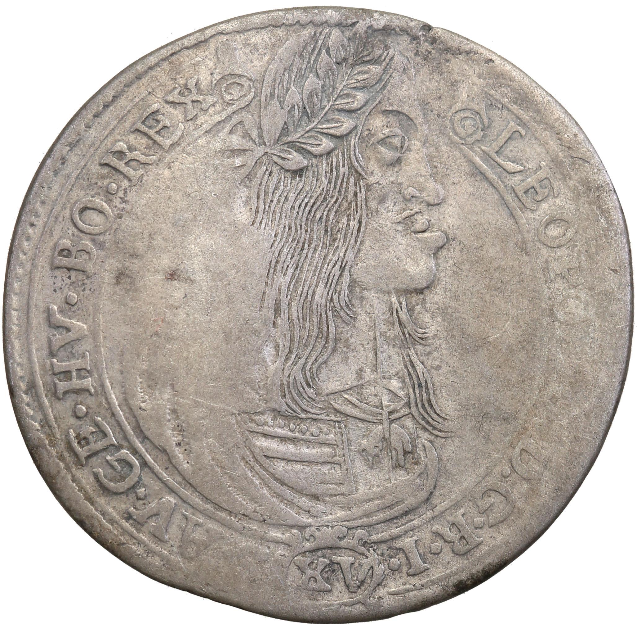 Węgry 15 Krajcarów 1663 st.4