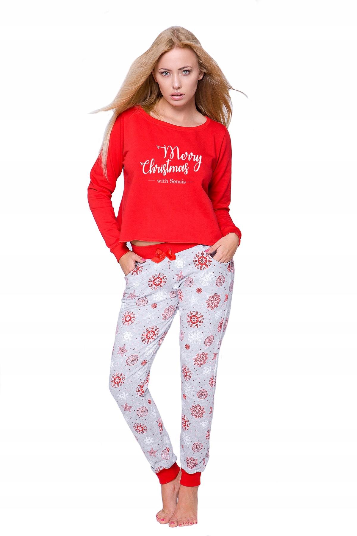 1b71c82b59b314 Nowość dres piżama Gifti Sensis świąteczna L - 7724635521 ...