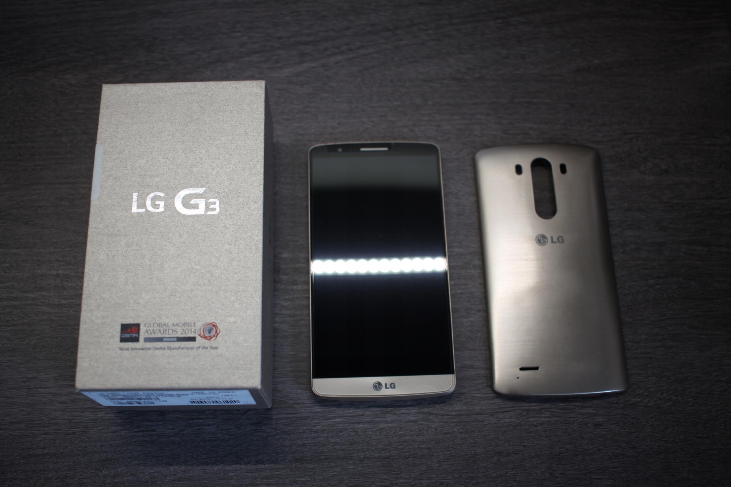 LG G3 D855 - Złoty/Gold - 16gb - 2gb - Android 7.1