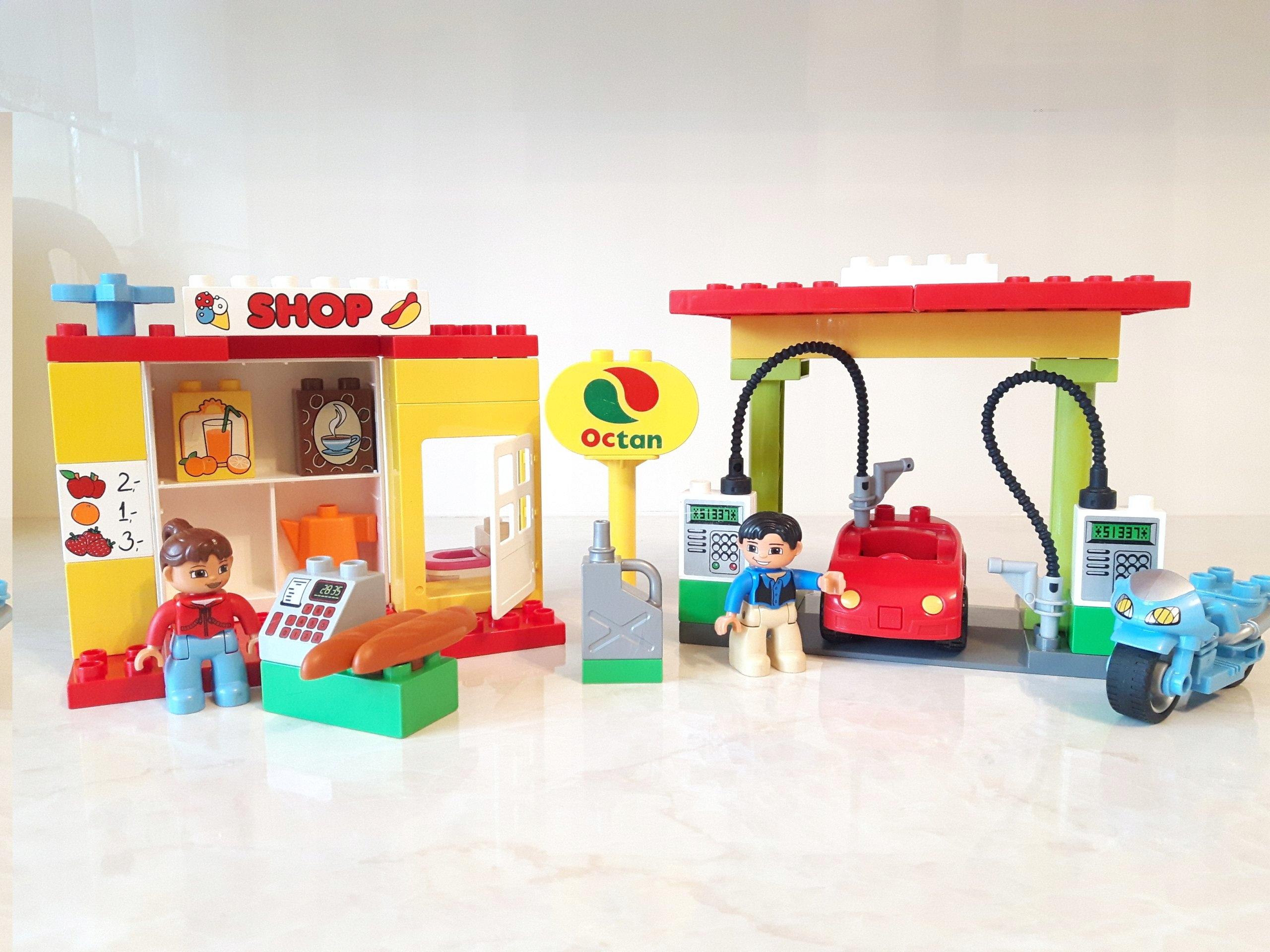 Lego Duplo Stacja Paliw 6171 Cpn Sklep Unikat 7441432455