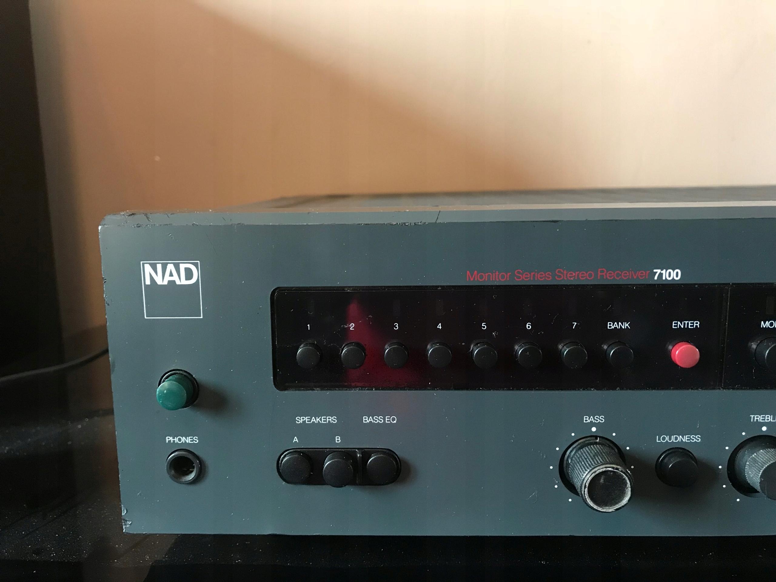 Nad 7100 audiofilski amplituner stereo - 7563760485