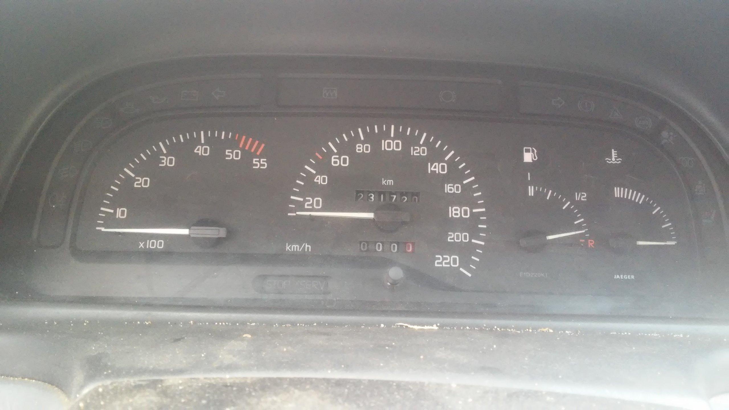 Licznik Zegary Wskaźniki Renault Laguna 1 94 01 6953250983