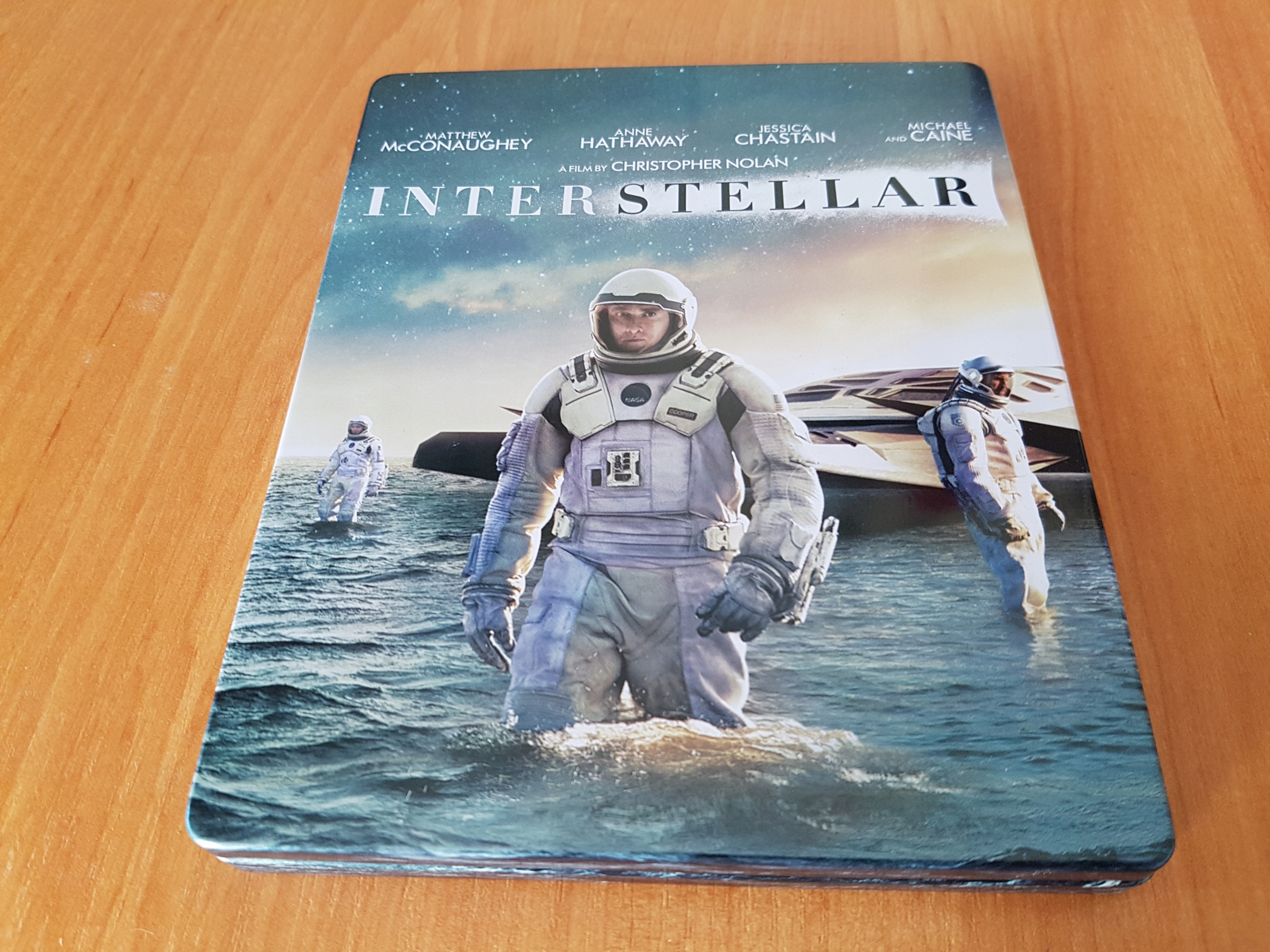 INTERSTELLAR - STEELBOOK # LEKTOR * UNIKAT