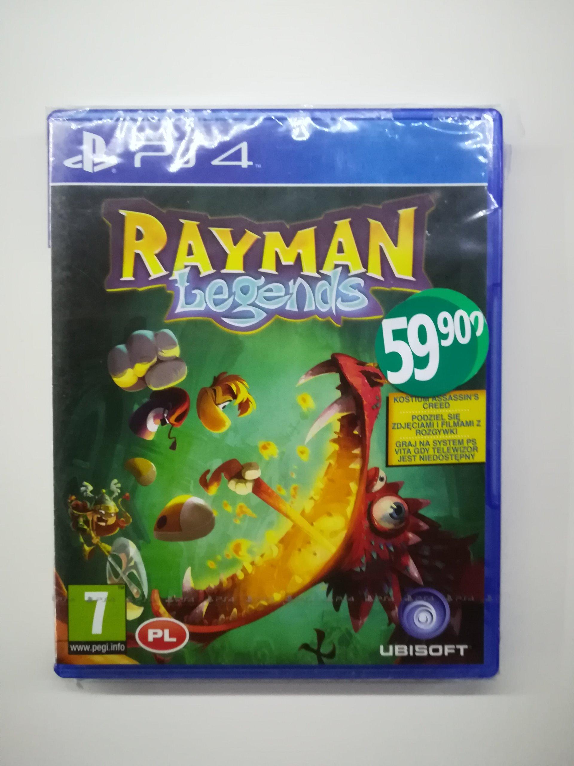 Nowa gra Rayman Legends PS4 dla dzieci nowa folia