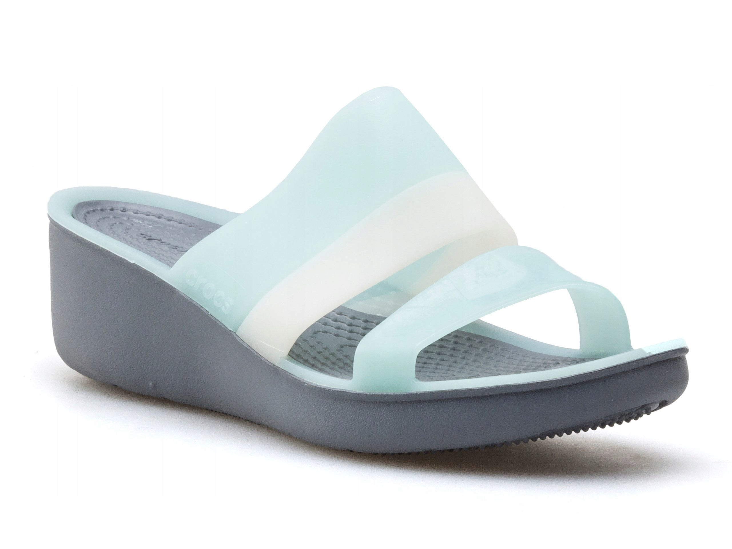 Sandały Crocs Colorblock Wedge 200031 455 r. 39 40