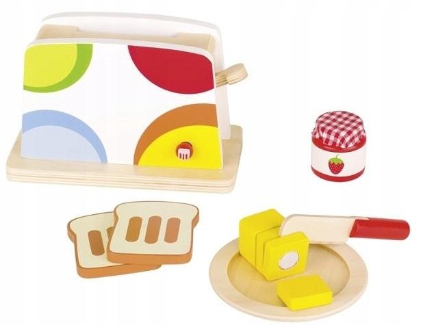 Toster Drewniany Do Kuchni Dziecięcej Akcesoria 7663026545