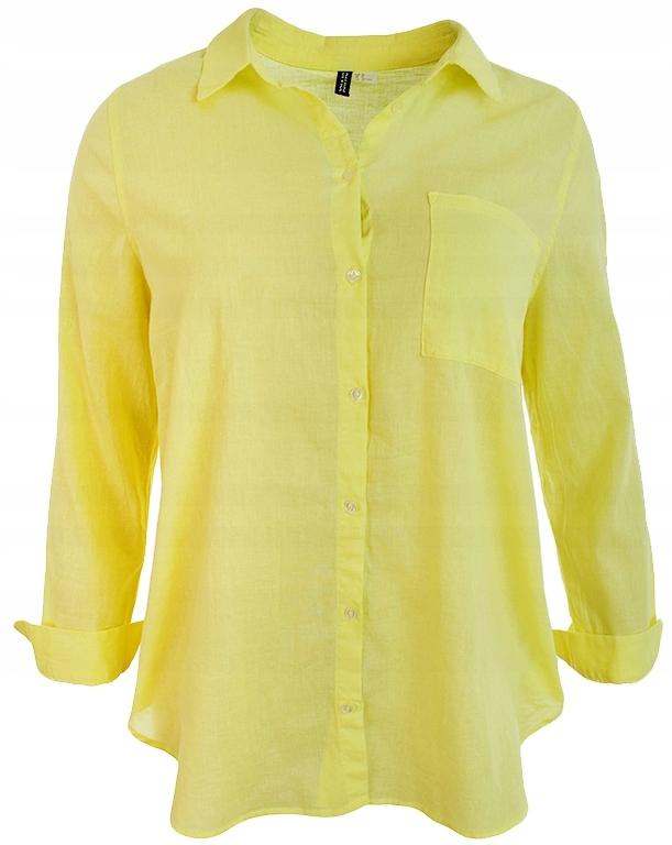 d151fe83dd kK5312 H M żółta koszula