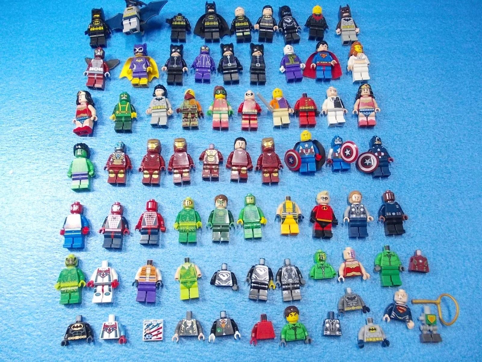 Ogromny Zestaw Figurek Lego Marvel Super Heros 7429139883