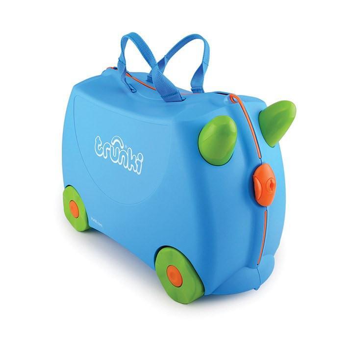 f245610294aec Jeżdząca walizka podróżna jeździk TRUNKI kółka 2w1 - 7697893504 ...