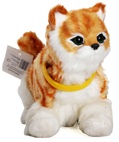 Interaktywny Kot Rudy Kotek Z Czujnikiem 7158352855 Oficjalne