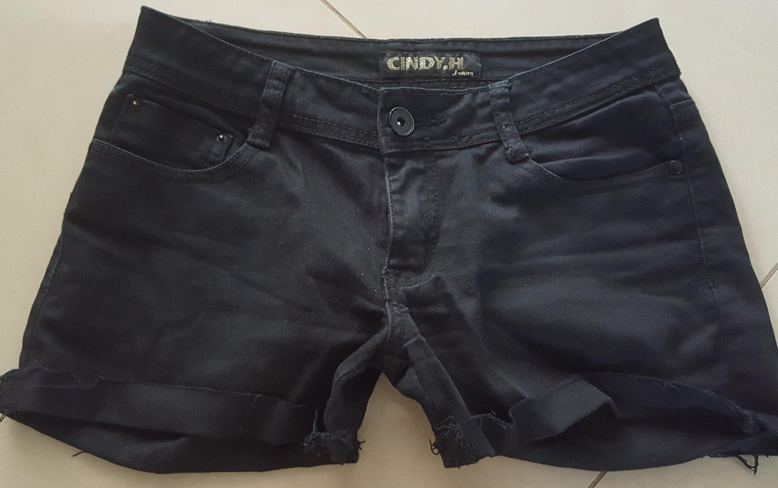 7d7d017ee6 Cindy.H jeansowe spodenki  38 - 7398296549 - oficjalne archiwum allegro