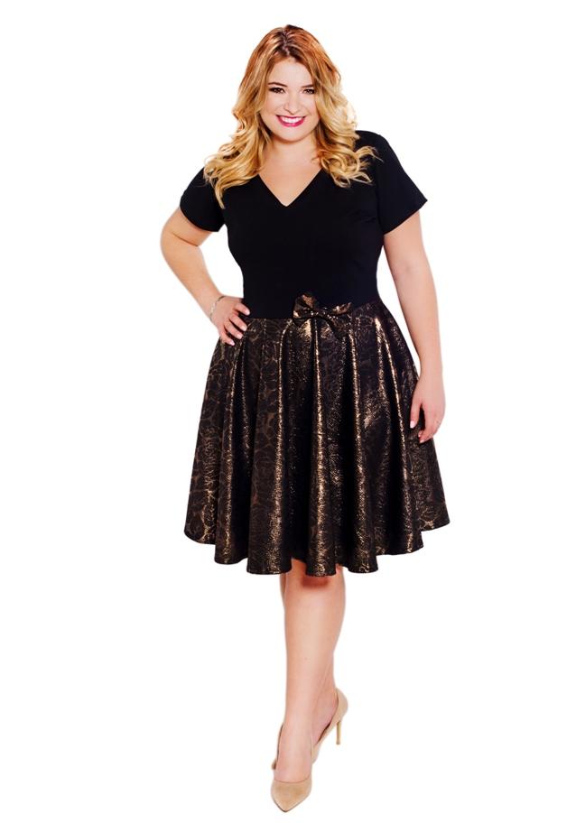 ee3fda41 Sukienka klasyczna z koła BYLOLA - 7200671724 - oficjalne archiwum ...