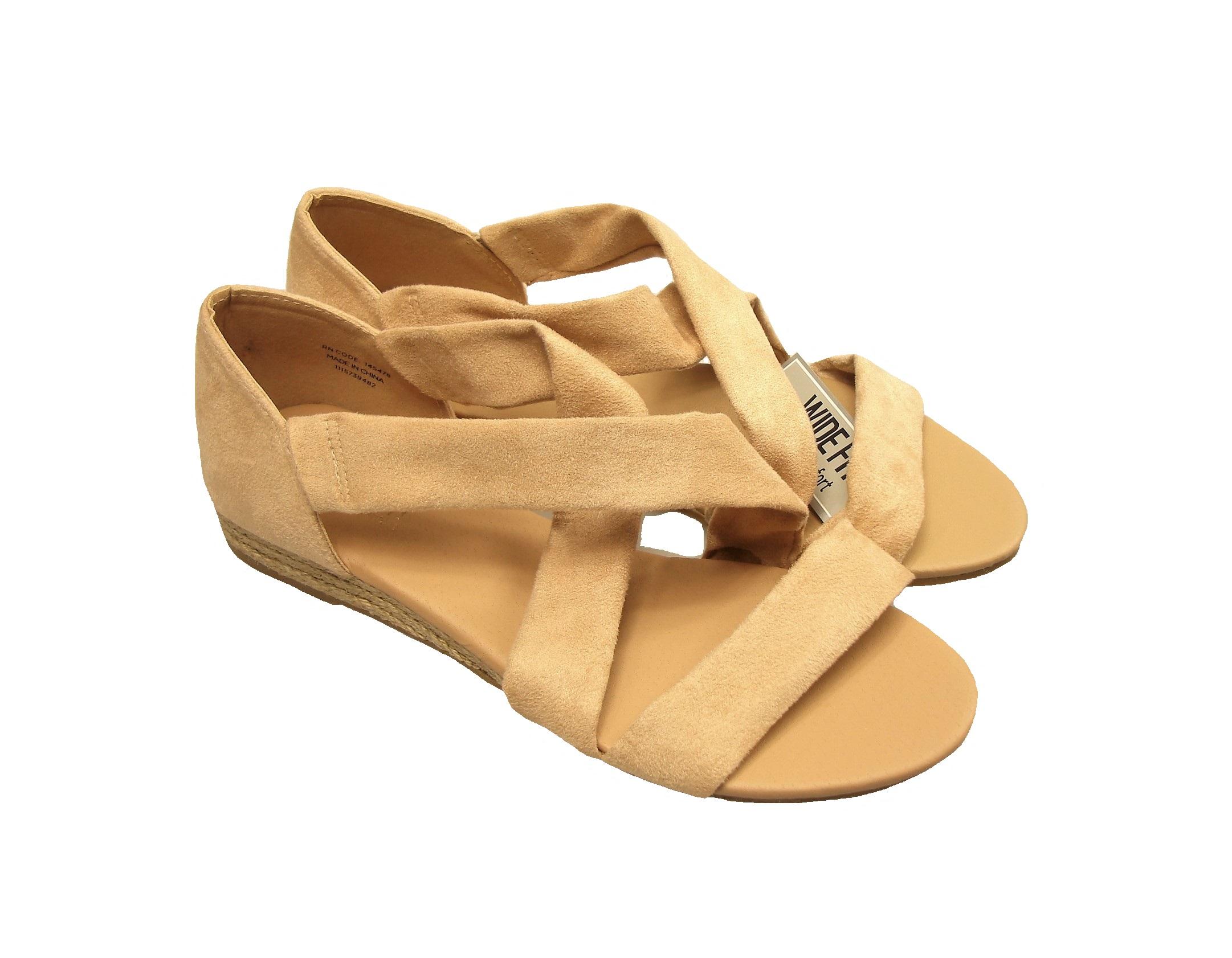 97b8ecbf973f9 szerokie sandały mały koturn 40,5 - 41 Atmosphere - 7373698299 - oficjalne  archiwum allegro
