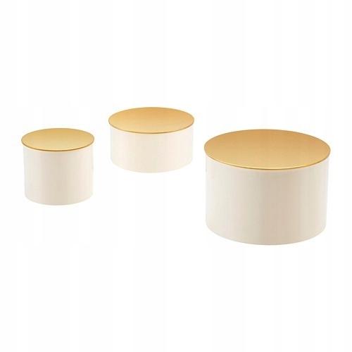 Ikea Glittrig Pudełko Ozdobne Zestaw 3 Szt 7521487328