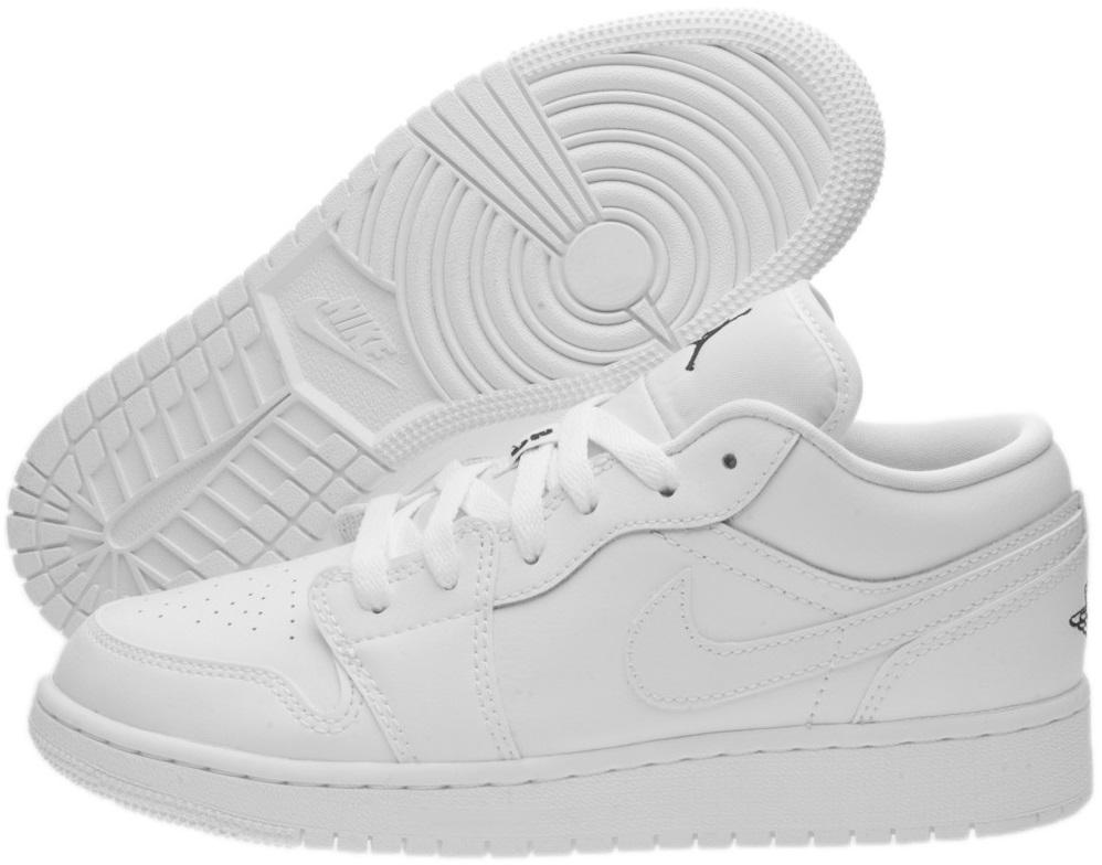Buty Air Jordan 1 Low BG  553560-101  38 PROMO! - 7308259984 ... 0151fe88670