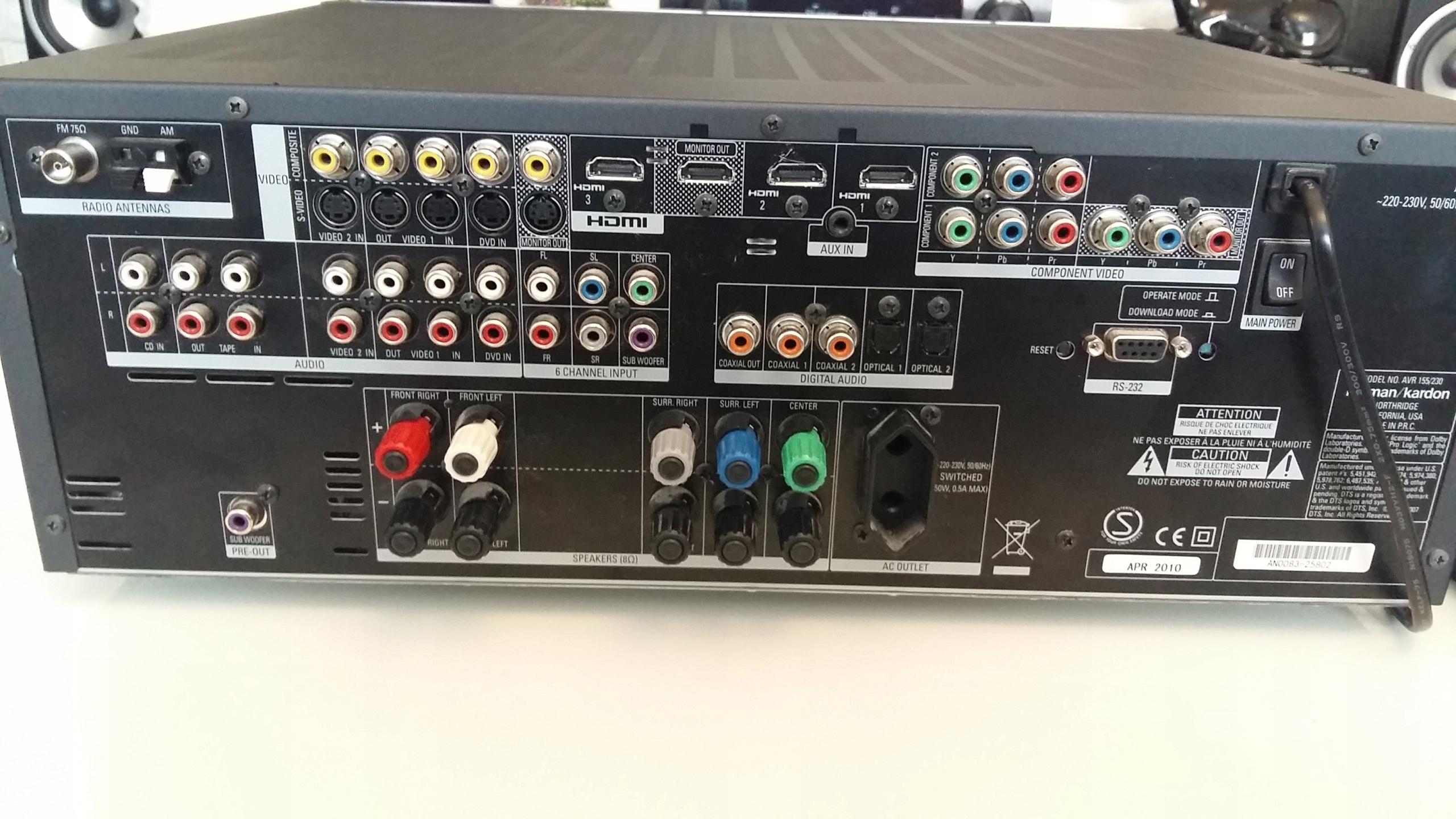Amplituner Harman Kardon AVR-155 - 7609617965 - oficjalne archiwum