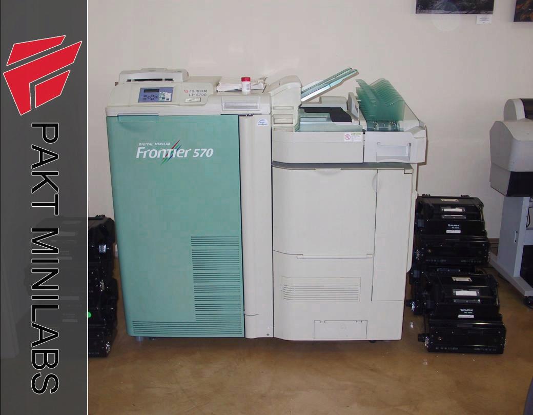 FUJI FRONTIER 570! rok 2007! LongPrint 30x64cm