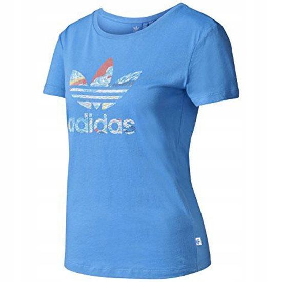 różne style sportowa odzież sportowa nowy styl Adidas Originals Koszulka Damska TREFOIL roz. 36 ...
