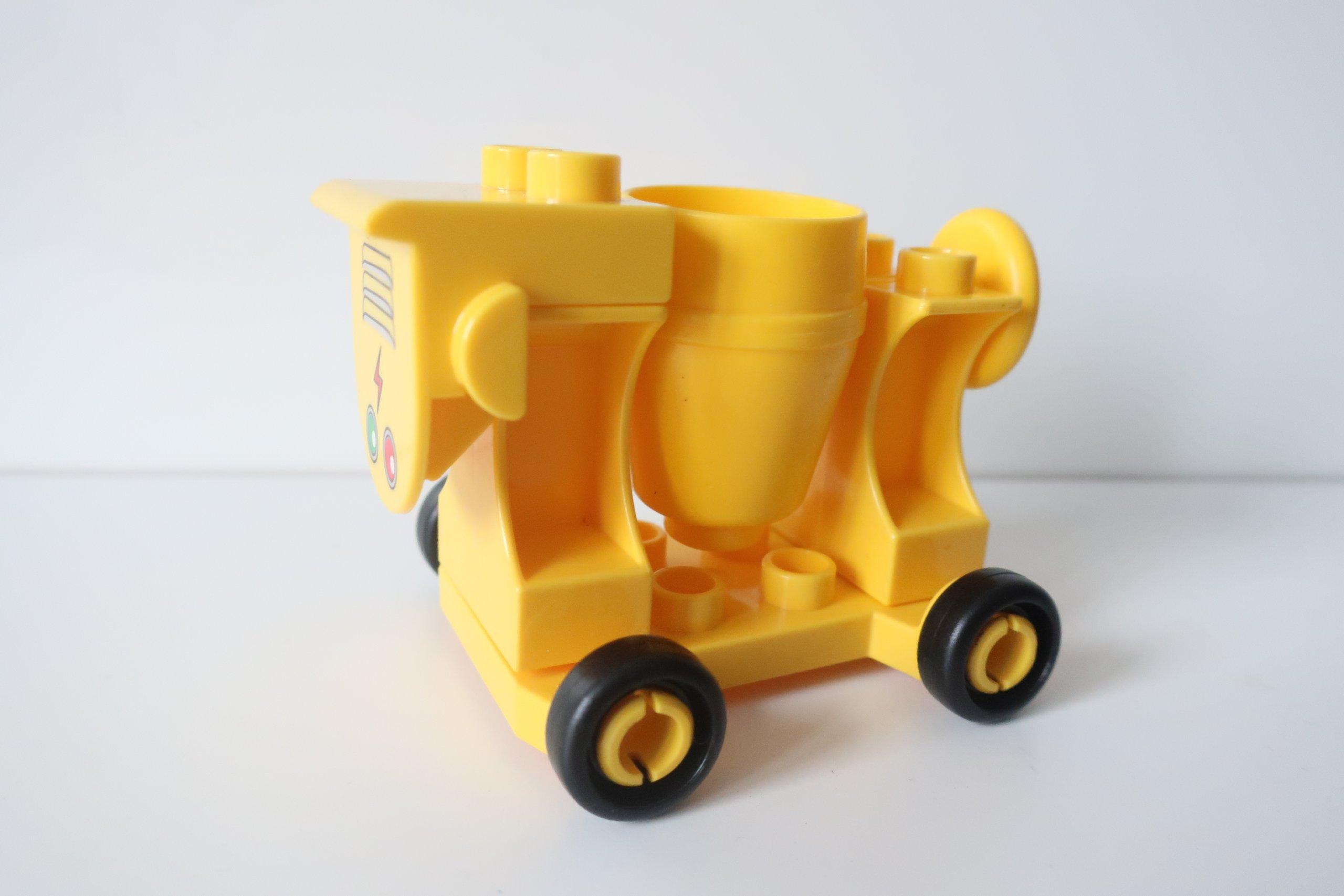 Kt Lego Duplo Autko Mała Betoniarka 7222791869 Oficjalne