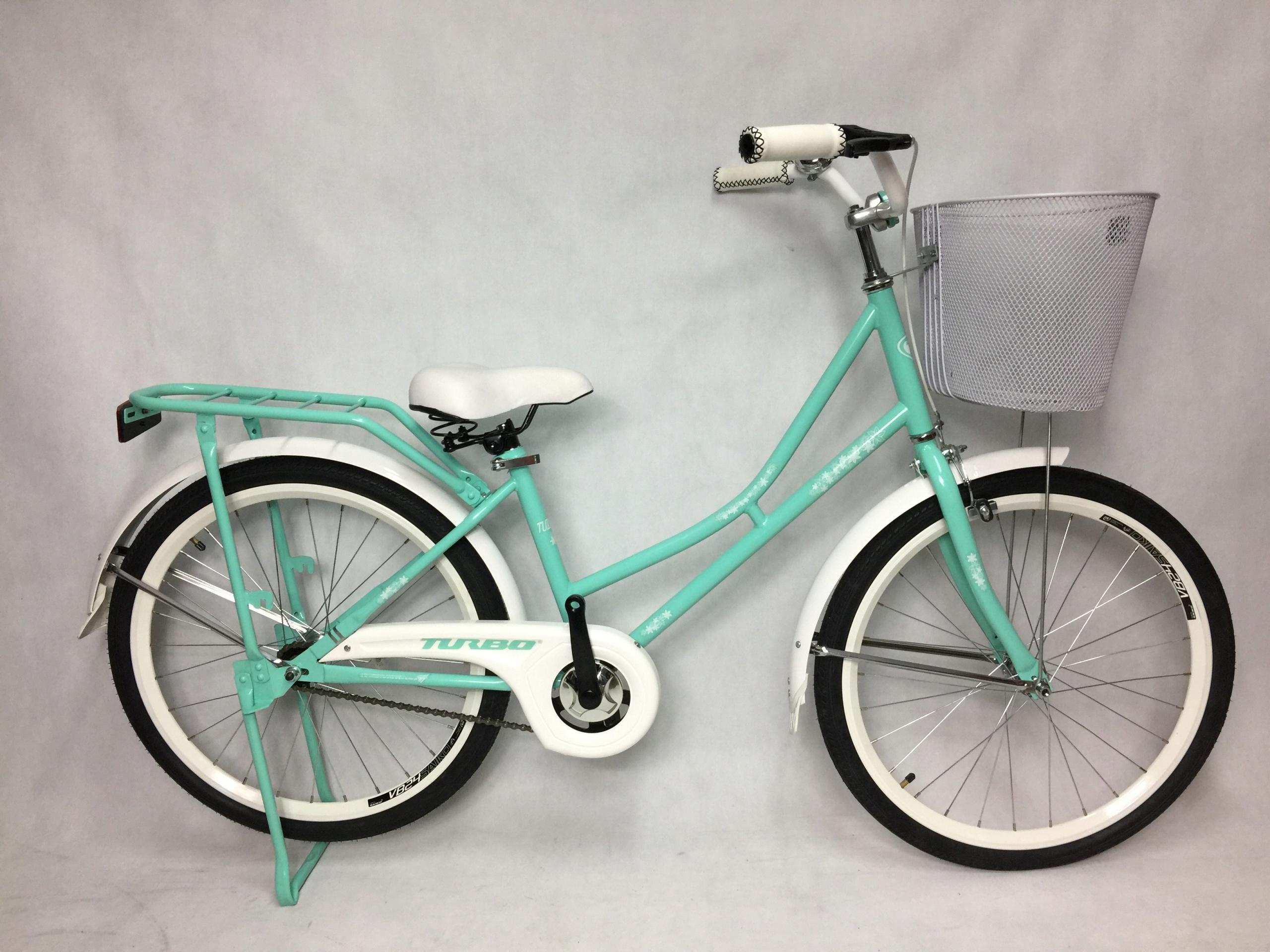 Rower Miejski Dla Dziewczynki 24 Miętowy 7673507172 Oficjalne