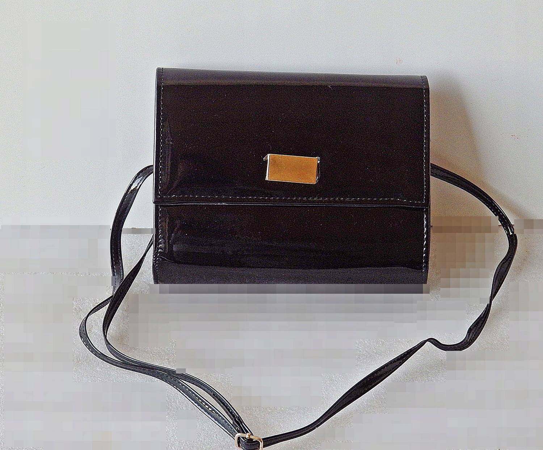 e8532ba8ac195 Torebka kopertówka czarna wieczorowa elegancka - 7543793732 ...