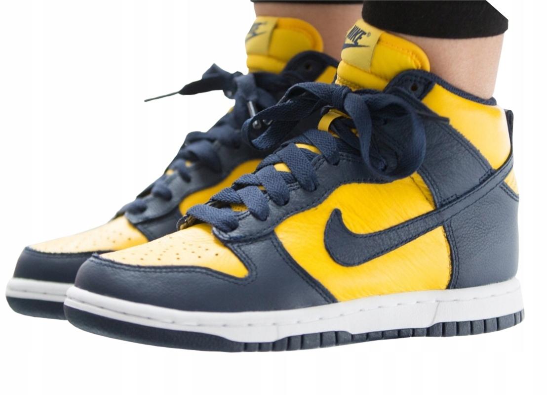 huge discount a23d9 9aec5 Buty Nike Air Dunk Hi QS force 1 zimowe mid r.38,5 - 7686283508 ...