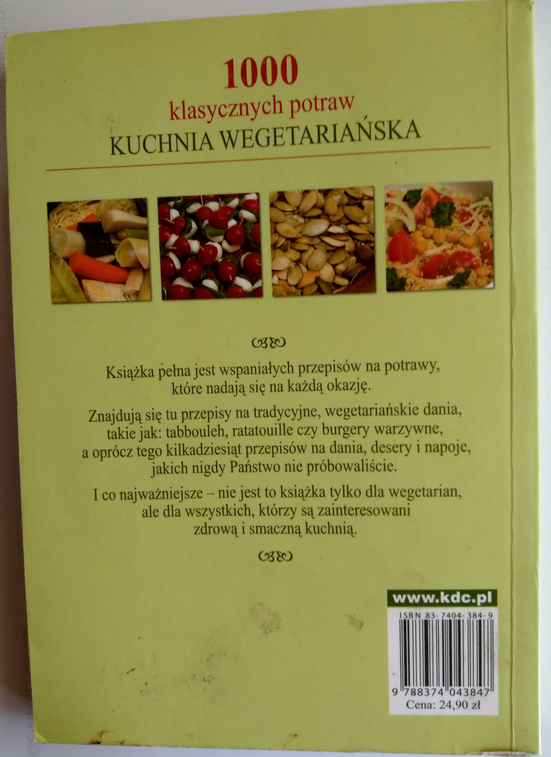 1000 Klasycznych Potraw Wege C Humphries 7277627225 Oficjalne