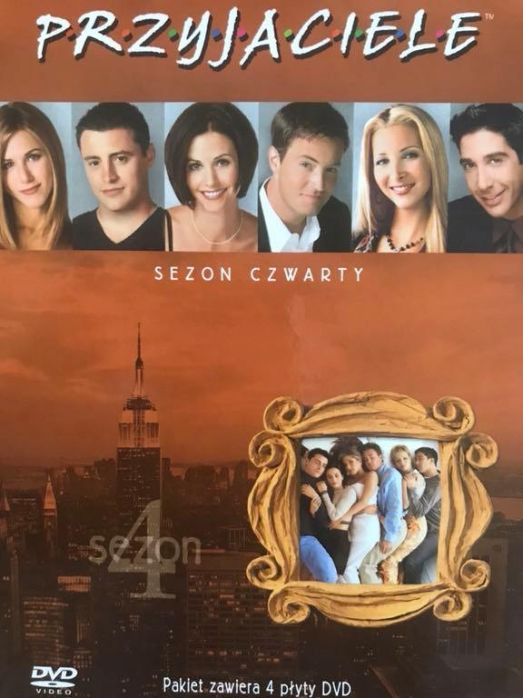 Serial Przyjaciele Sezon 4 7525799551 Oficjalne Archiwum Allegro