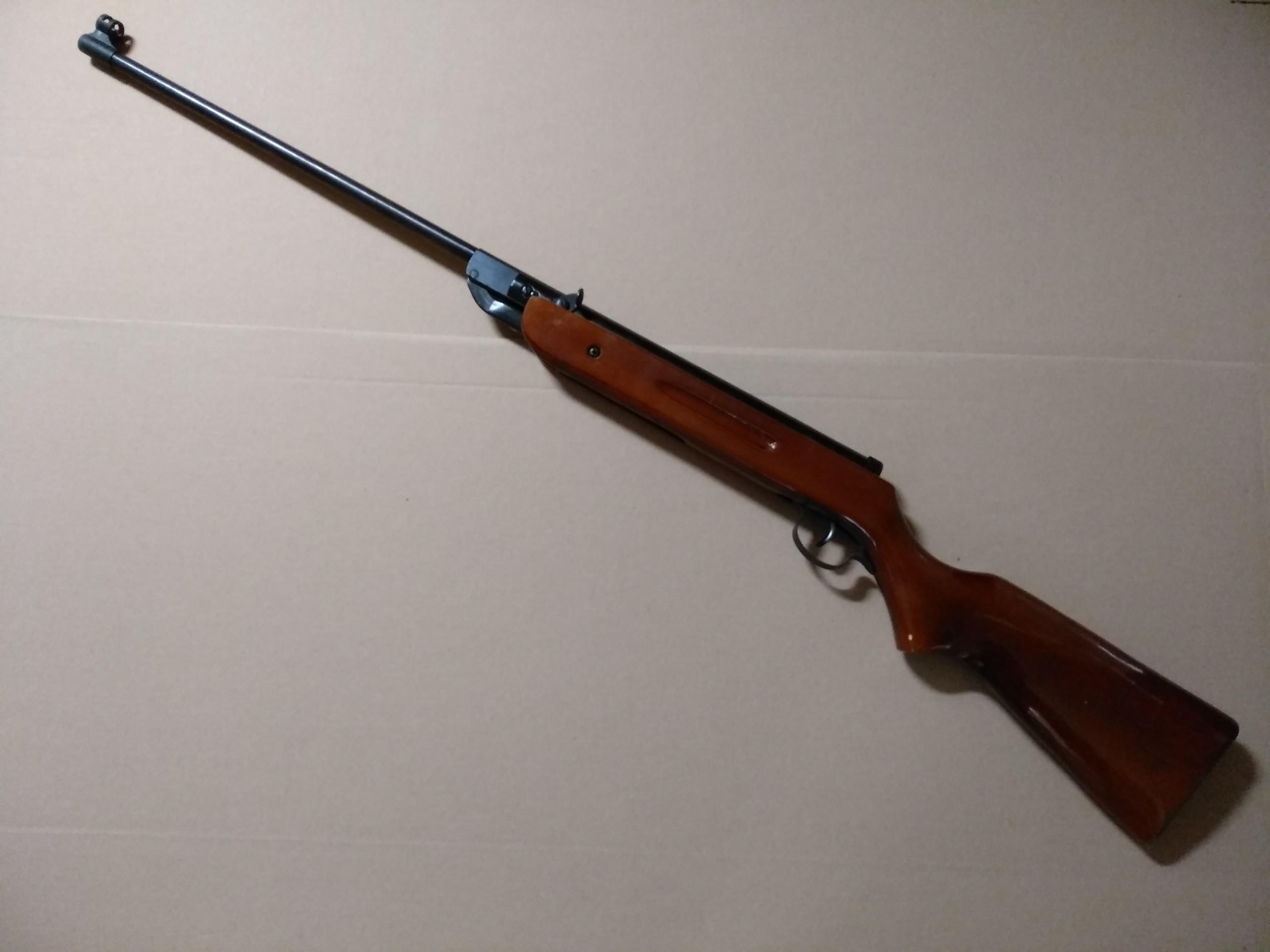 Wiatrówka Magnum łamana 4,5mm uszkodzona (1)