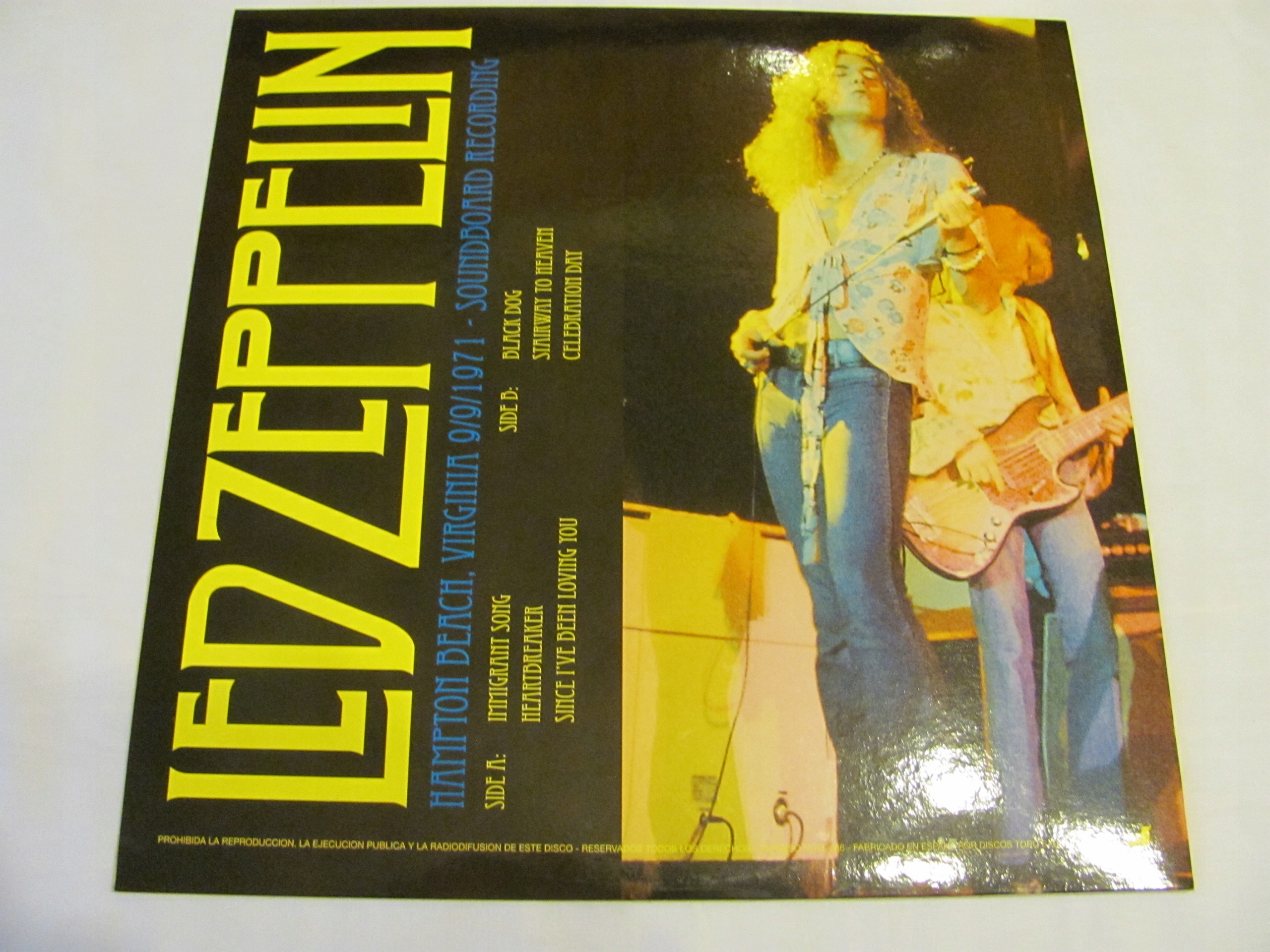LED ZEPPELIN - DOES ANYONE REMEMBER HAMPTON 1971 - 7702128852