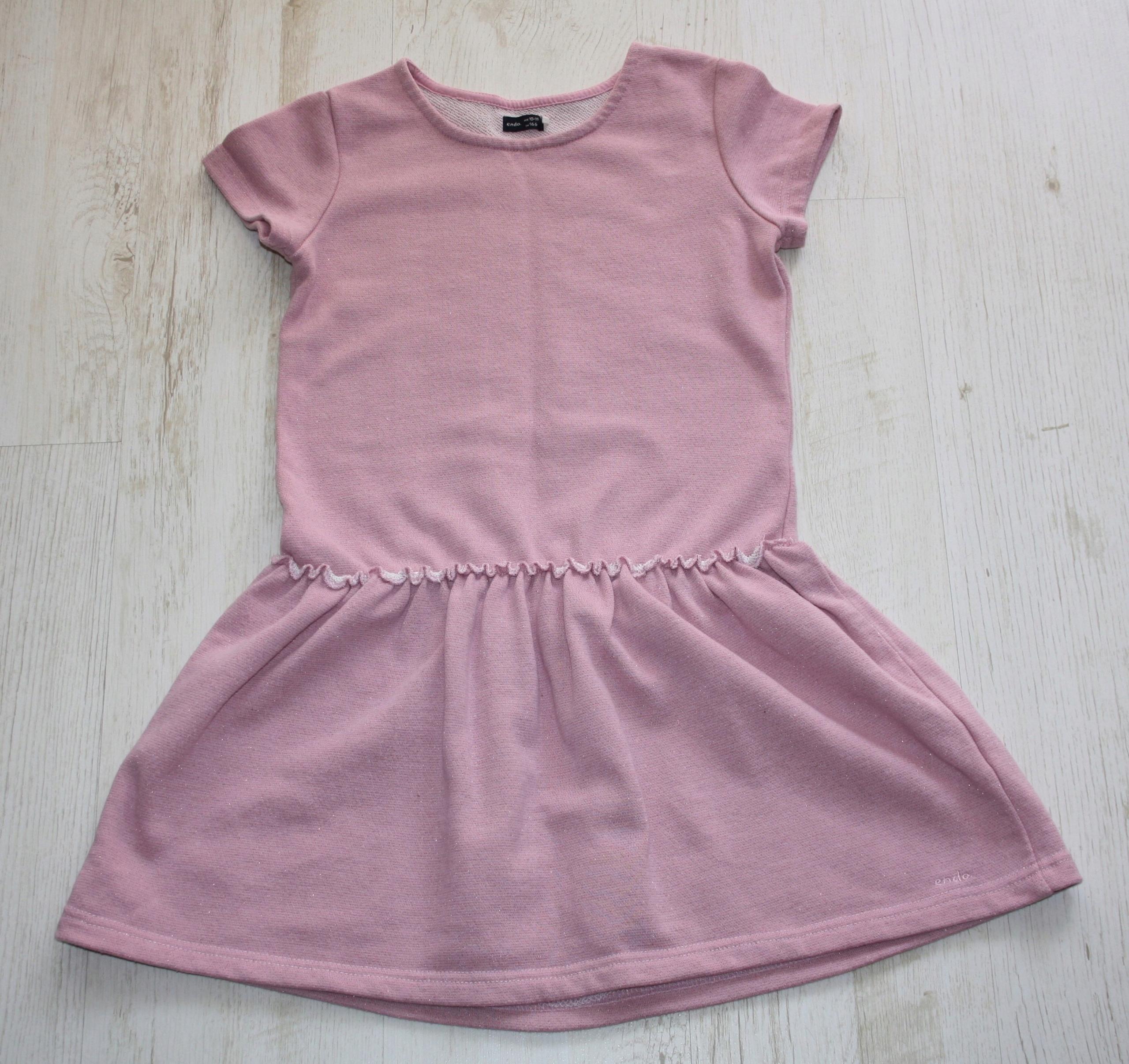 8703a8aadc Sukienka ENDO ze srebrną nitką r. 146 - 7546913428 - oficjalne ...
