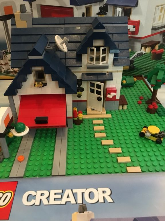Lego Creator Domy 3w1 5891 7197397921 Oficjalne Archiwum Allegro