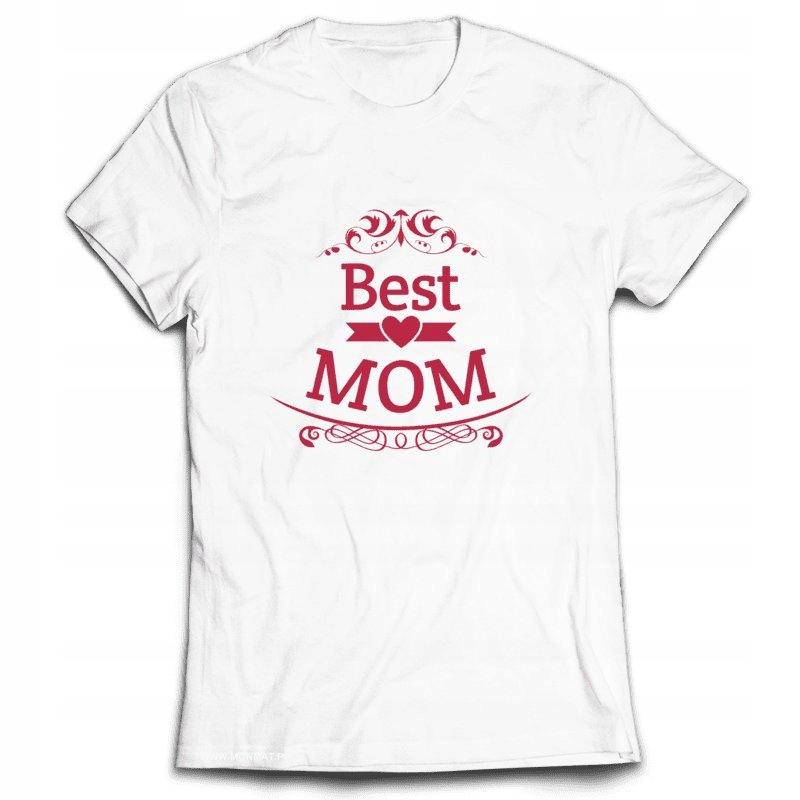 499c4b947b341f KOSZULKA NA DZIEŃ MATKI DLA MAMY - BEST MOM S - 7335029844 ...