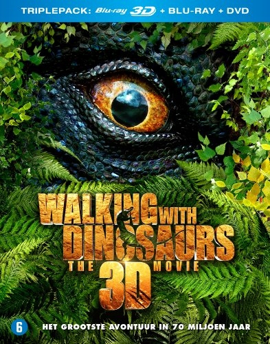 BLU-RAY Movie - Walking With Dinos..-3D- All Regio